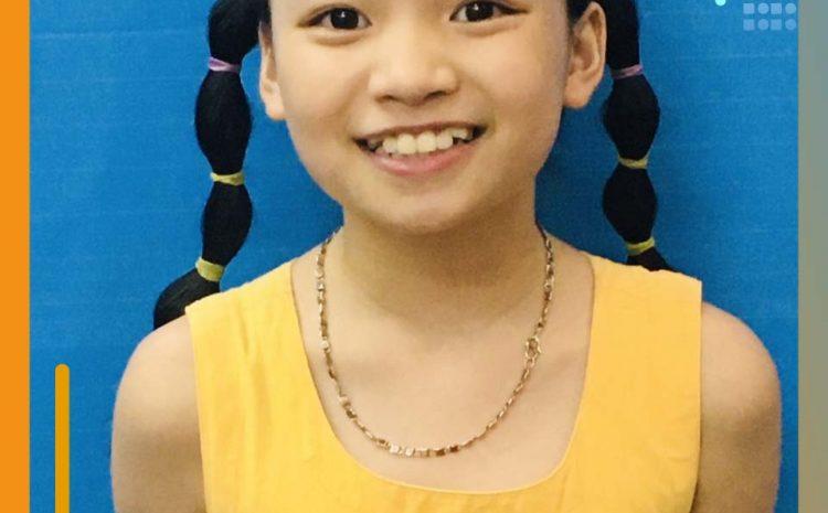 Chào mừng Minh Anh – học viên mới của Kiddy Land!